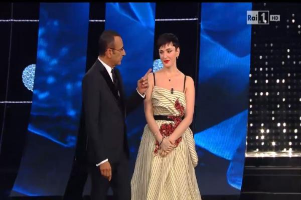 Sanremo 2015: Arisa look ultima serata