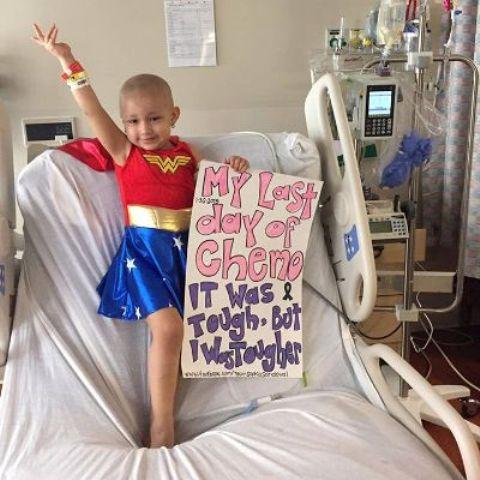 Lotta contro il cancro: a 3 anni Sophia vince la sua lotta