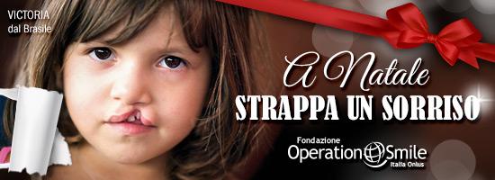 Regala un sorriso per Natale e sostieni la Fondazione Operation Smile Italia Onlus