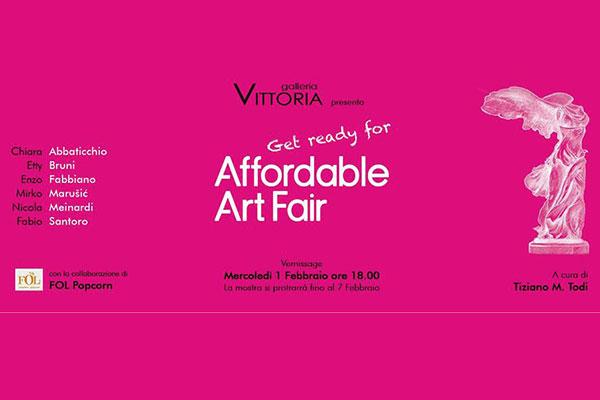 Get Ready Affordable Art Fair