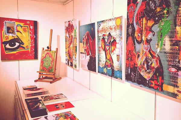Corrispondenze di Renata Solimini & Moan Lisa in mostra a Galleria Vittoria