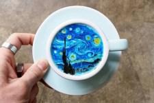 Caffè grafici: Disney, quadri e motivi floreali nelle creazioni di Kangbin Lee