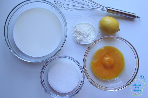 crema pasticcera al limone inforna con silvana