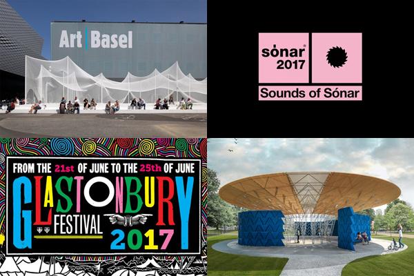 Eventi giugno 2017: un mese all'insegna di musica, arte e architettura