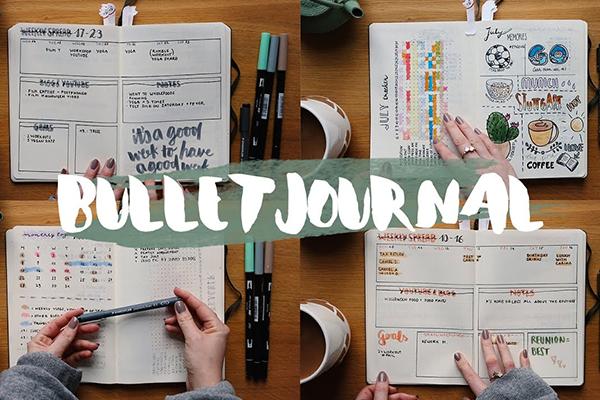 Il Bullet Journal e la decorazione dell'agenda