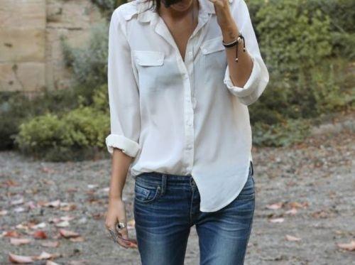 Tanti outfit con la camicia bianca? Ecco come indossarla!