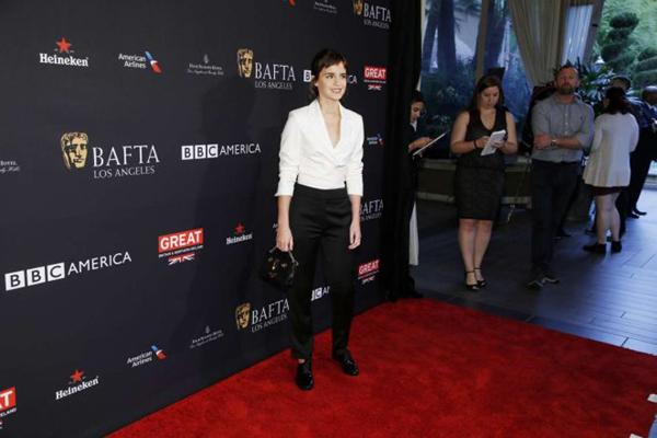 Emma Watson BAFTA 2018