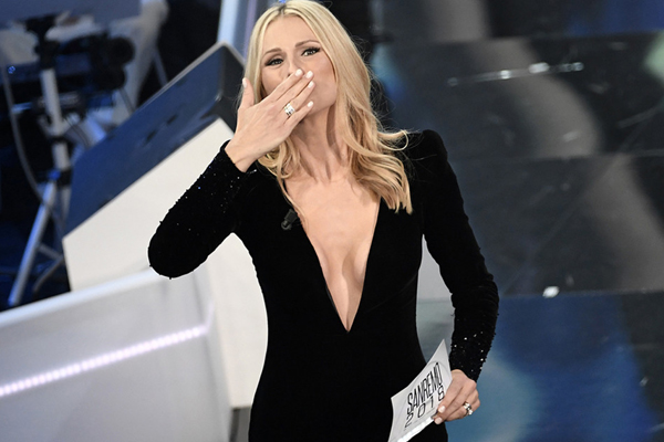 Sanremo 2018: Michelle Hunziker regina indiscussa del Festival