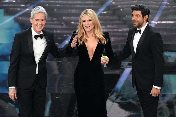 Festival di Sanremo 2018 Michelle Hunziker