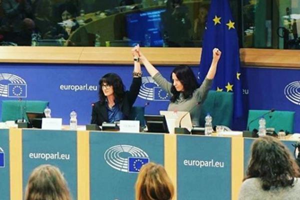 Asia Argento Parlamento Europeo