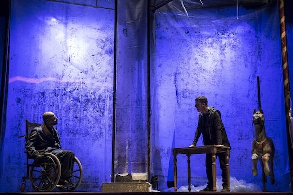 Emone di Antonio Piccolo con la regia di Raffaele Di Florio con Marcello Manzella in scena al Teatro India