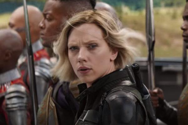 Scarlett Johansson Avengers Infinity War