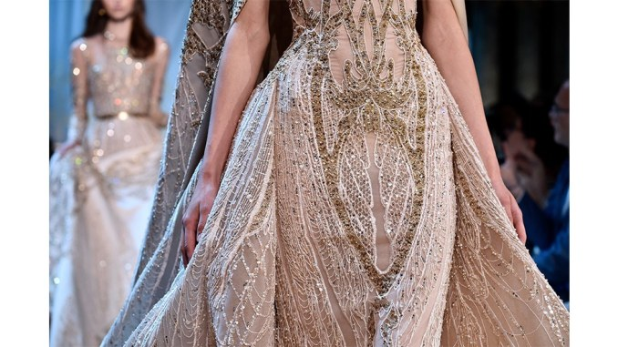 This Elie Saab Bridal Gown Took 700 hours Of Hand-Worked Craftsmanship