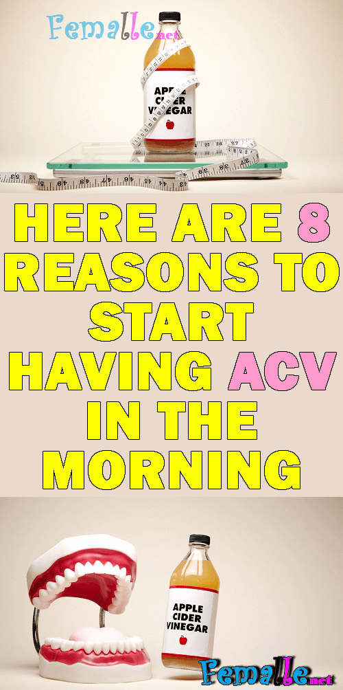 Here Are 8 Reasons To Start Having ACV In The Morning