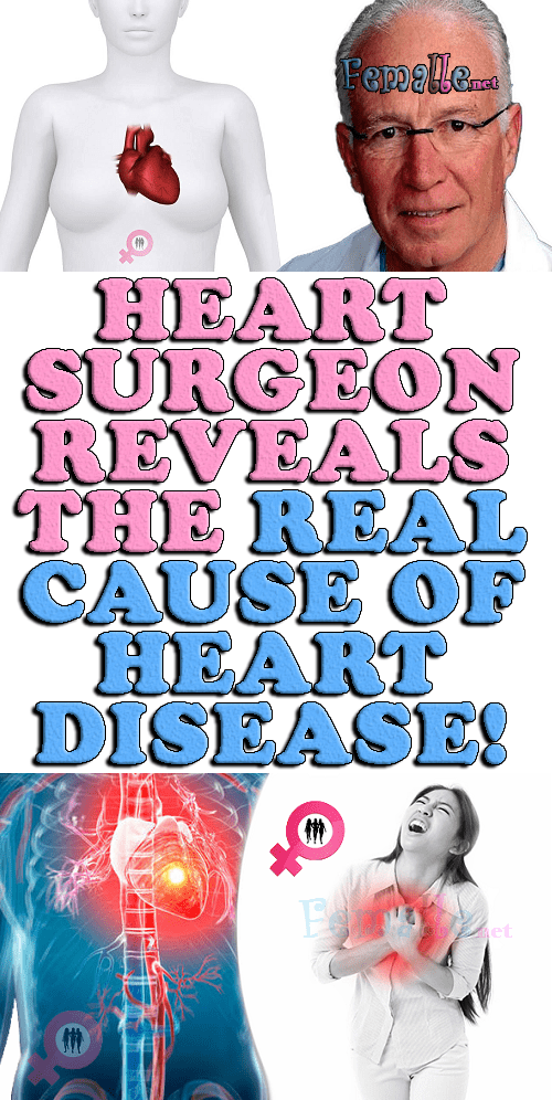 Heart Surgeon Reveals The Real Cause Of Heart Disease!