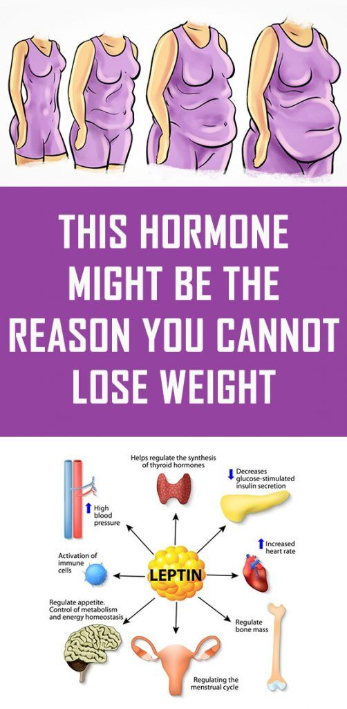 This Hormone Might Be the Reason You Cannot Lose Weight