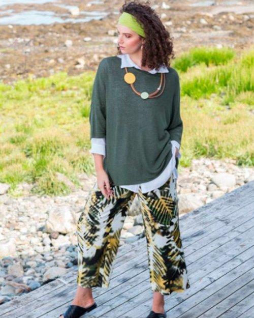 Femeia Fashion Boheme neule B11413