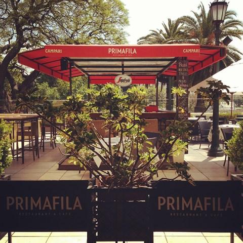 Primafila inaugura su terraza con carta renovada for Terrazas novedosas