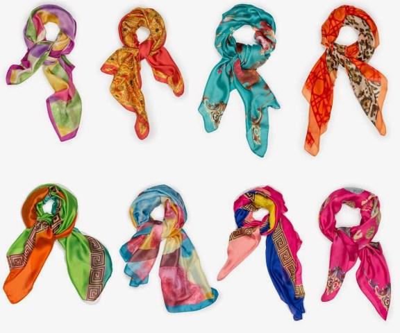 Añade color a los looks de verano con los pañuelos de Tantrend
