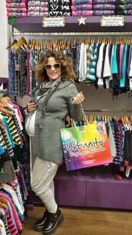 Fernanda Callejón de compras