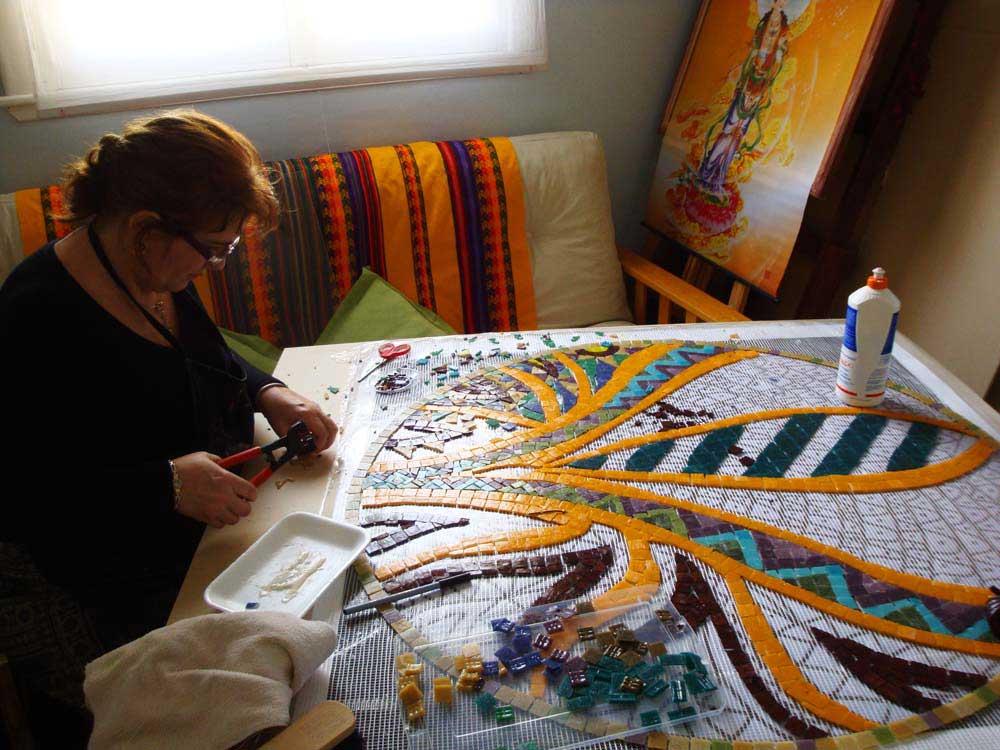 ¿Por qué el trabajo en mosaico es un canal lúdico para desarrollar la creatividad?