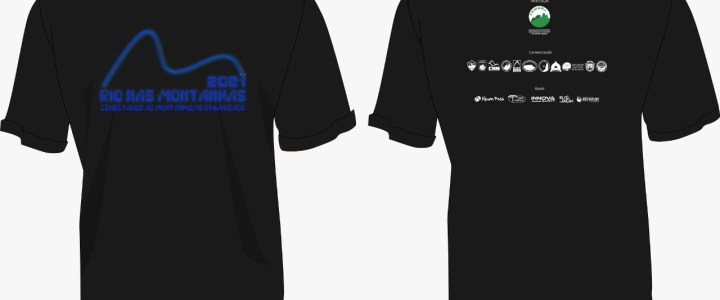 Camisetas Rio Nas Montanhas 2021