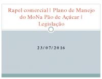 Plano de Manejo e Legislação Ambiental – Carla Milioni, Diretora de Meio Ambiente da Femerj