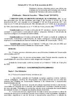 Uso público em unidades de conservação estaduais (Portaria IEF nº 173, de 19 de novembro de 2013)