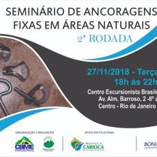 Seminário de Ancoragens Fixas em Áreas Naturais 02ª Rodada