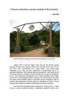 Visitação é essencial nos parques estaduais do Rio de Janeiro