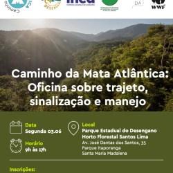 Caminho da Mata Atlântica: Oficina de Trajeto, Sinalização e Manejo no PE do Desengano – RJ