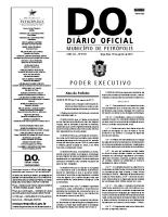 Decreto que dispõe sobre o Programa Municipal de Incentivo ao Montanhismo – Petrópolis, RJ (Decreto nº 283 de 7 de agosto de 2010)