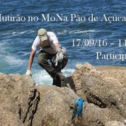 Mutirão de limpeza nas áreas de pesca da Urca