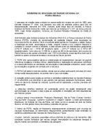 Resultados do Seminário de Mínimo Impacto de Paredes para o Parque Estadual da Pedra Branca – PEPB