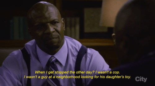 brooklyn 99 terry racism