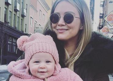 hilary duff daughter banks