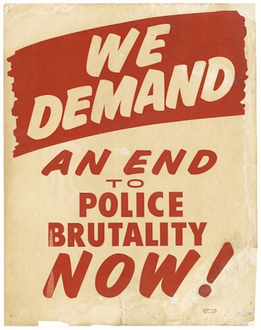police brutality cardi b trump