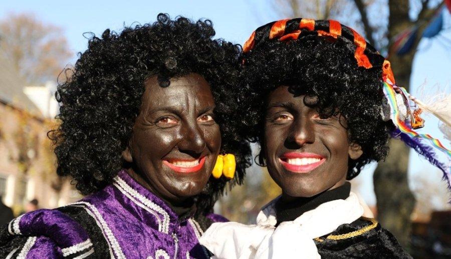 zwarte piet blackface