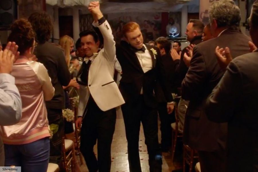shamless gallavich wedding