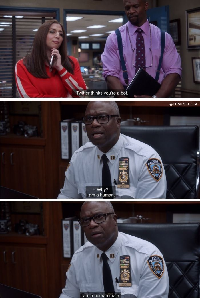 captain holt quotes memes