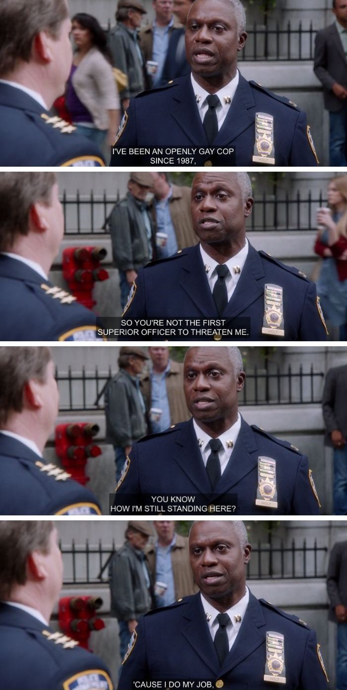 captain holt gay stereotypes