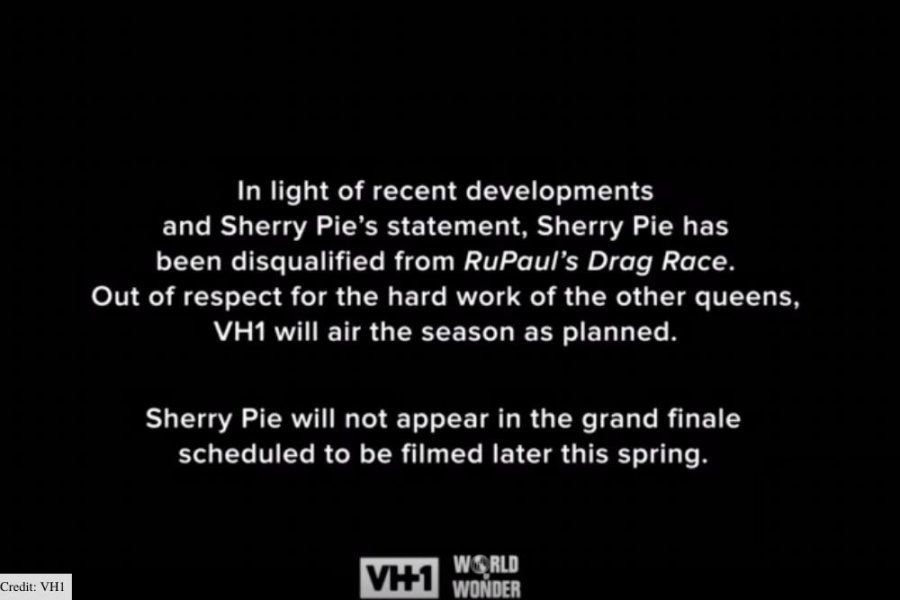 why was sherrie pie disqualified