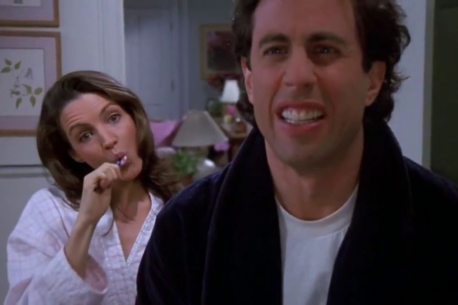 seinfled toothbrush episode