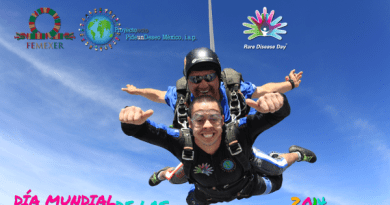 Toto salta con paracaídas: celebrando el Día Mundial de las Enfermedades Raras