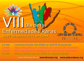 Cartel informativo sobre la Semana EERR 2015