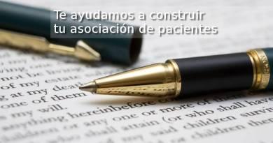 Te ayudamos a construir una asociación de pacientes