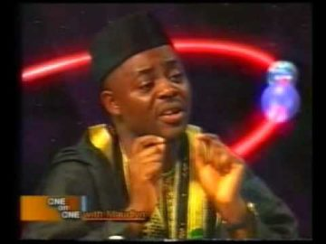 Chief Femi Fani-Kayode talks about President Olusegun Obasanjo on One on One - 2002 Pt 5.flv