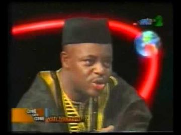 Chief Femi Fani-Kayode talks about President Olusegun Obasanjo on One on One - 2002 Pt 2.flv