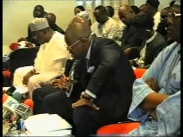 Femi Fani Kayode, fmr  Minister of Aviation appears before the Senate Aviation Committee June 2008 Pt 3