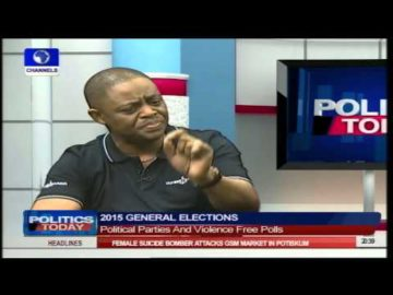 Politics Today: Fani-Kayode Says He Saw Evil, Monster In The APC Part 1